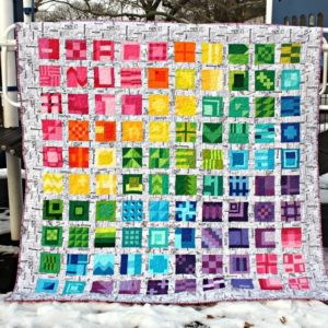 City Sampler quilt realizzato da Sara Lawson - Sew Sweetness