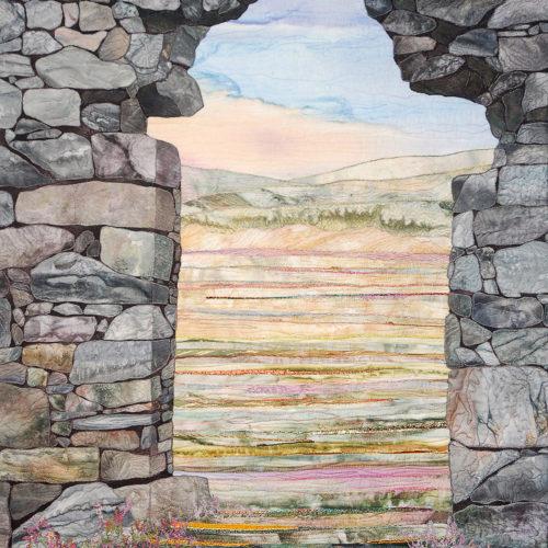 """""""St. Kevin's Way"""", 2007, 24"""" wide x 34"""" high, copyright Denise Labadie"""