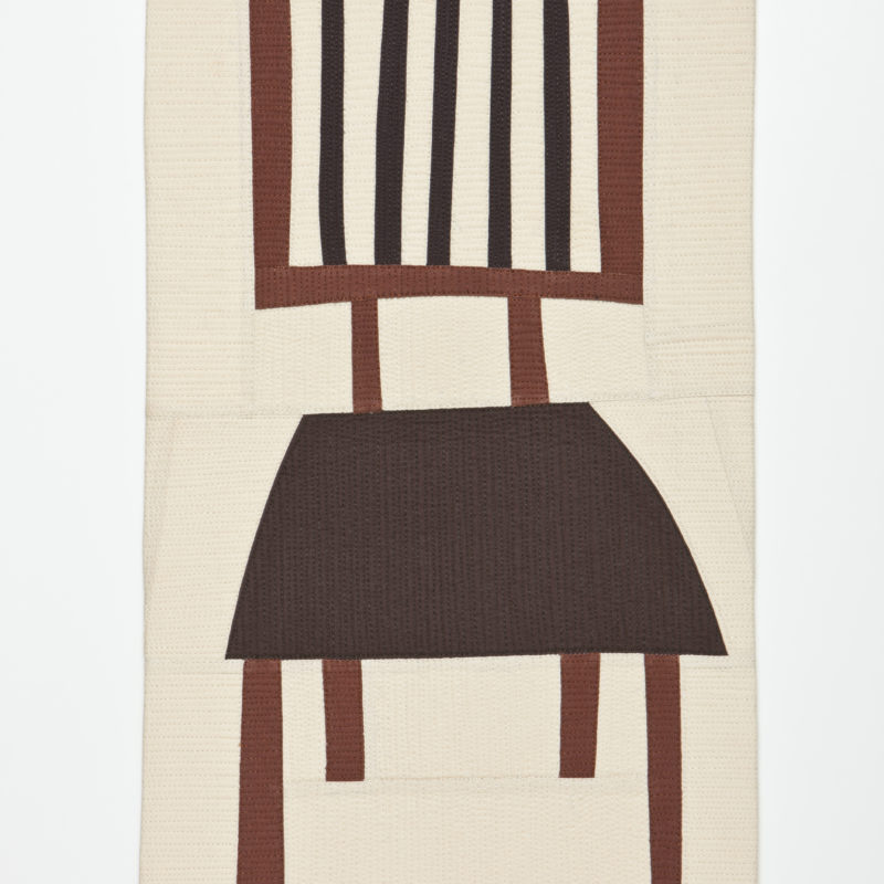 """Sewing Chair"", 21H x 11W, 2012, copyright Maria Shell"