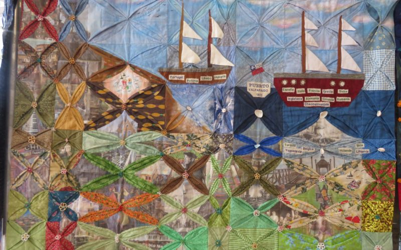 """Valparaiso Puerto Principal"", di Carolina Leiva, Ximena Luna, Ana Uribe Mellafe, Maria Teresa Mogollones, Maria Elena Ramirez"