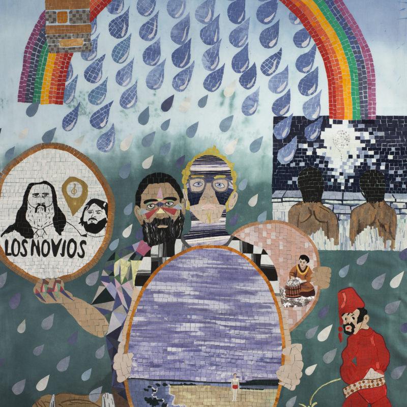 """""""Familia A SeisColores #9,Textilemosaic. 1,51 x 2,40 m, copyrightChiachio&Giannone"""