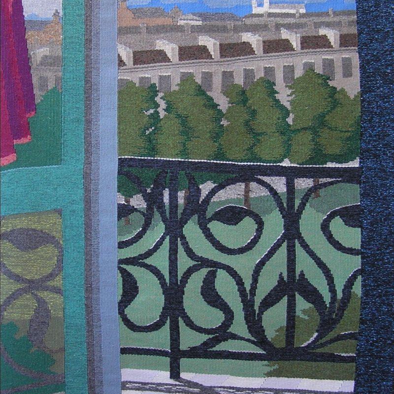 """Reflections on a Summer Day"", 59 x 33 "", 150 x 84 cm, 2004, copyright Alex Friedman"