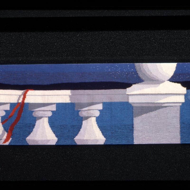 """Full Moon Fancy"", 12 x 33"", 30 x 85 cm, 1989, copyright Alex Friedman"