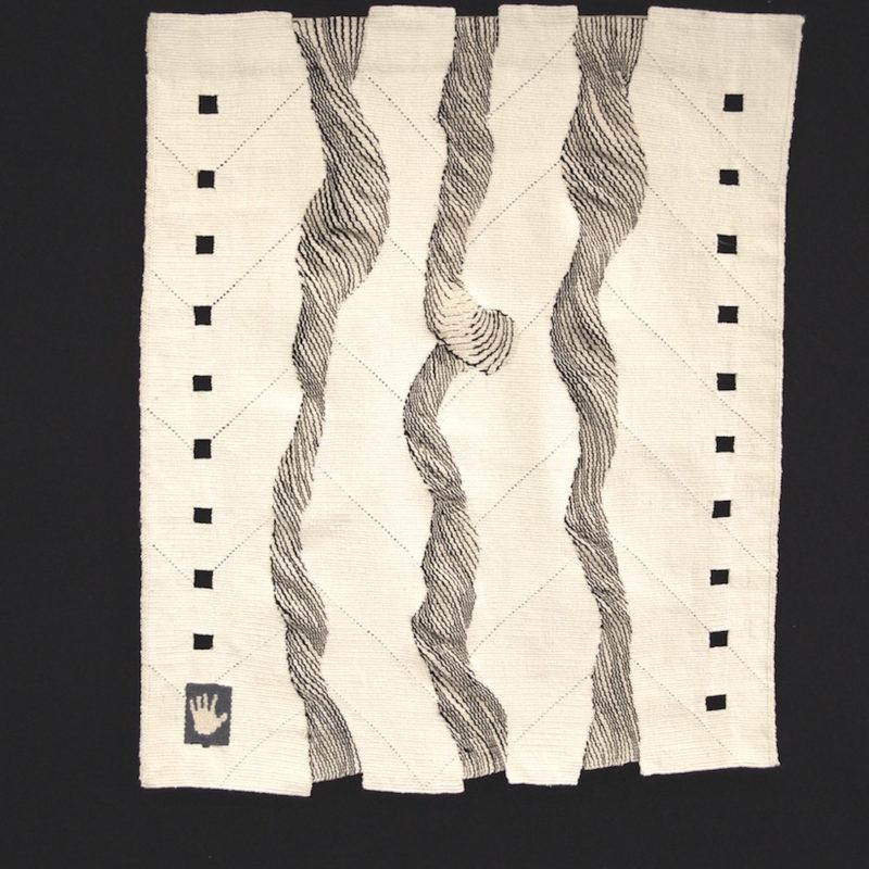 """""""Flow 1"""", 32 x 27"""", 80 x 70 cm, copyright Alex Friedman"""