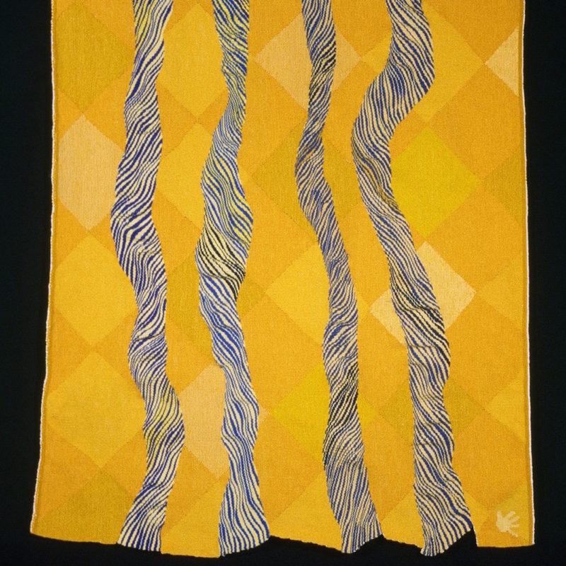 """""""Flow 3"""", 50 x 43.5"""", 125 x 110 cm, 2007, copyright Alex Friedman"""