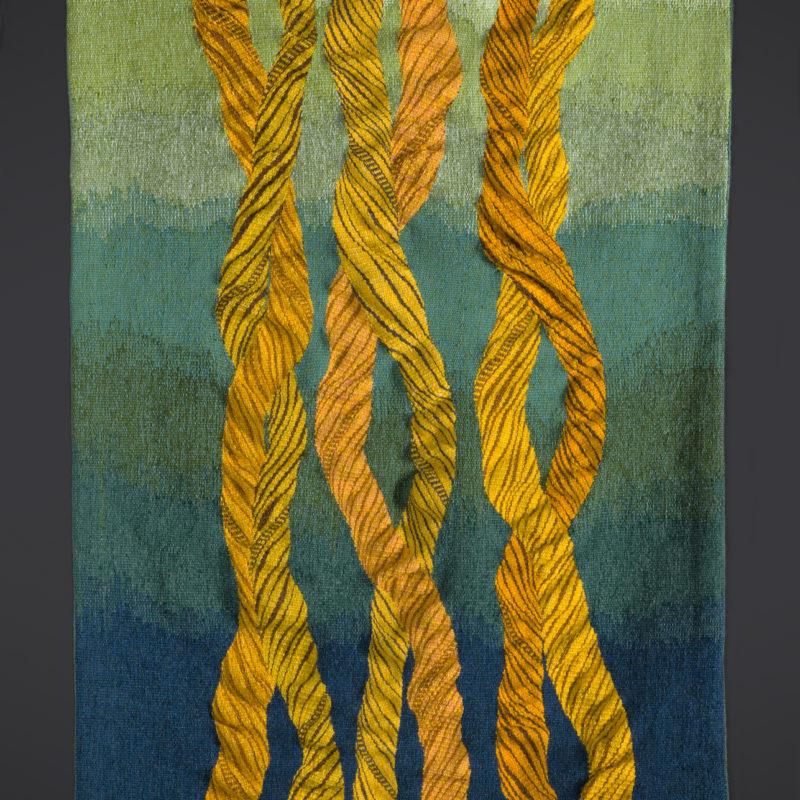 """""""Flow 6: Veriditas"""", 55 x 35"""", 140 x 90 cm, 2012, copyright Alex Friedman"""