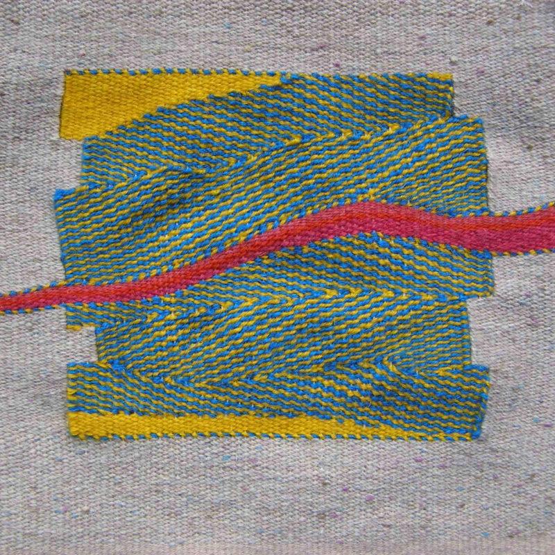 """""""Rift Flow"""", 11"""" x 11"""", 2009, copyright Alex Friedman"""