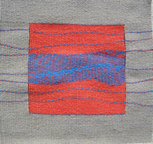 """Blue Flow"", 11"" x 11"", 2009, copyright Alex Friedman"