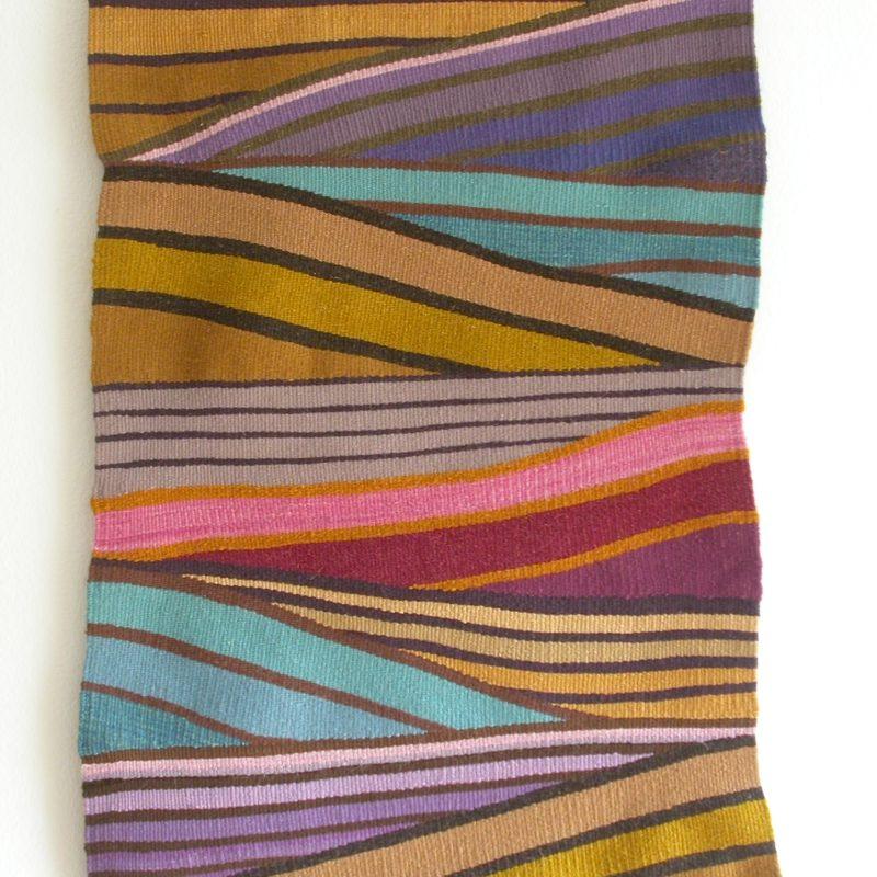 """Echo"", 2008, 36""x 24"", wool, copyright Deborah Corsini"