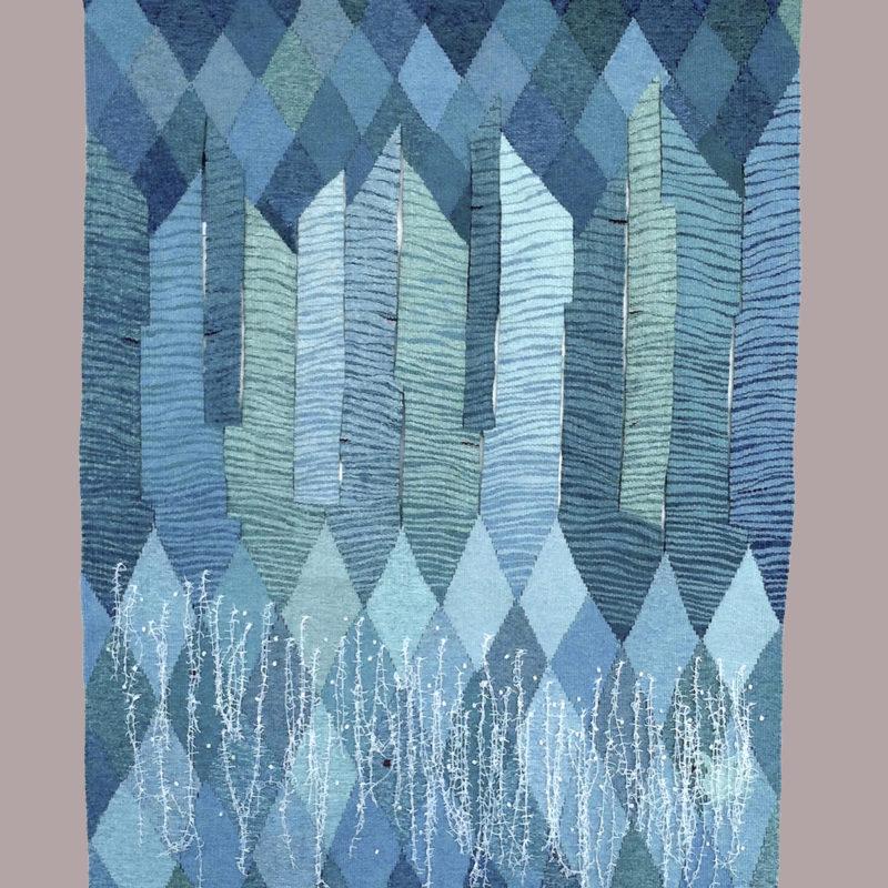 """Wave ReAction"", 51 x 37"", 130 x 95 cm, 2013, copyright Alex Friedman"