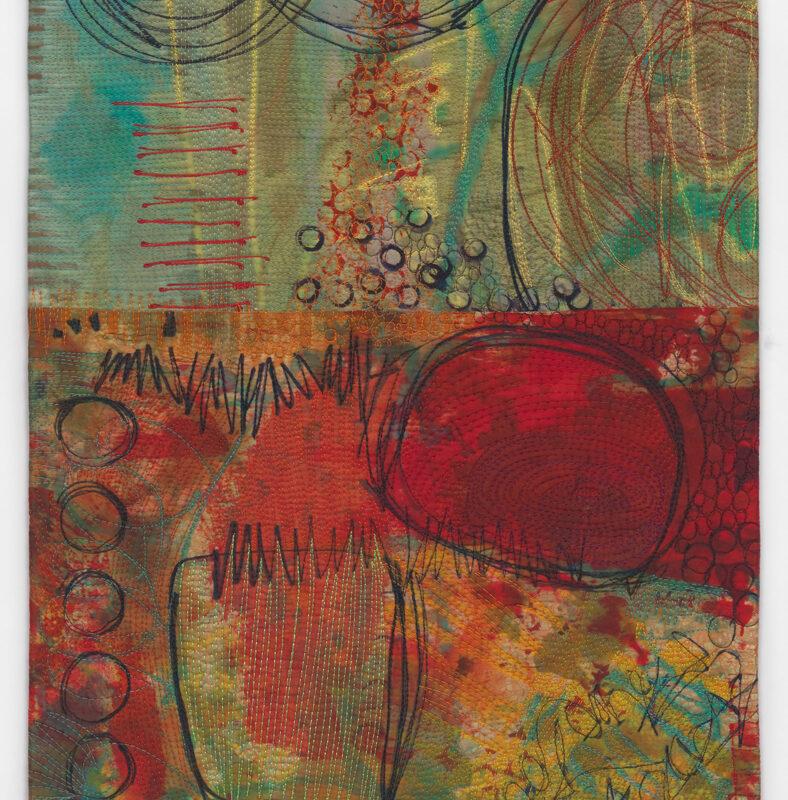 """Effervescence"", 39' X 15', 2017, copyright Karen Schulz"