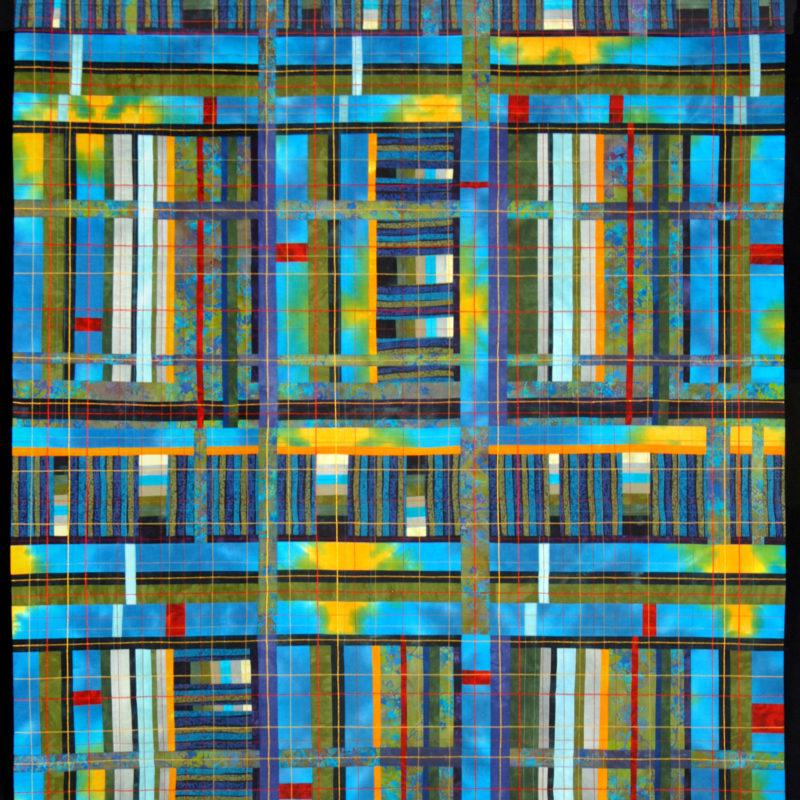 """View"", 70' X 42', 2008, copyright Karen Schulz"