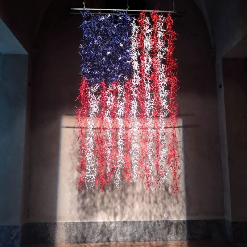 Susan White. Flag IV 2019