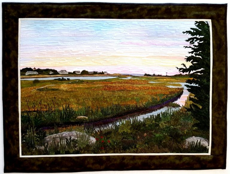 Sunset From Little Island West Falmouth, MA - 31″ x 23.5″ NFS - © Sue Colozzi