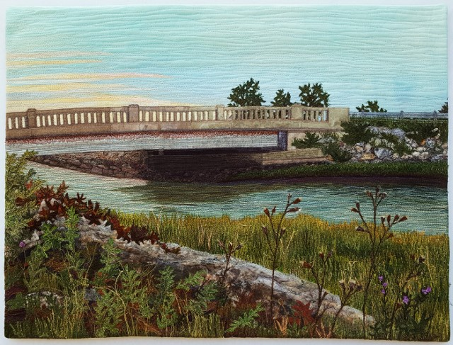 That's Water Under the Bridge - West Falmouth, MA - 18″ x 24″ - Private Collection - © Sue Colozzi