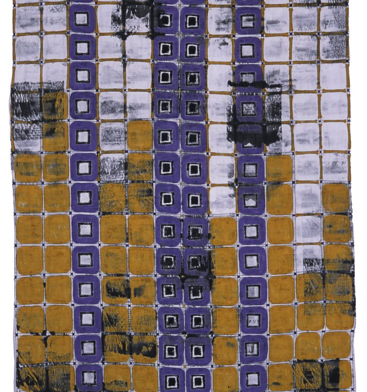 """Walls from Fences Series #1"", 24"" x 46"", 2010 copyright Jeanne Williamson Ostroff"