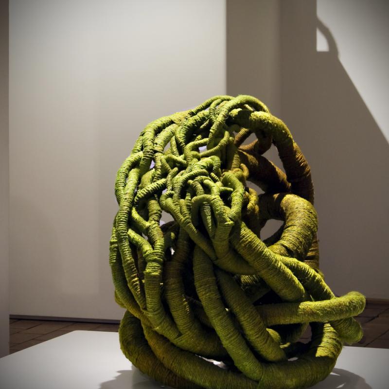 """Nidation II"", 2008, 70 x 65 x 60cm, copyright Aude Franjou"