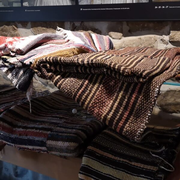 Telai e tessitura, MEOC, ph.credit Chiara Marci