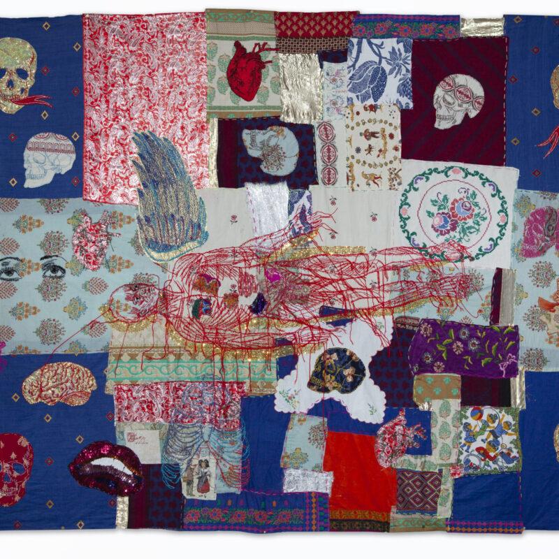 """""""Dream"""", 177x258cm, embroidery and appliqué, copyright Anastasiia Podervianska (Ukrain)"""