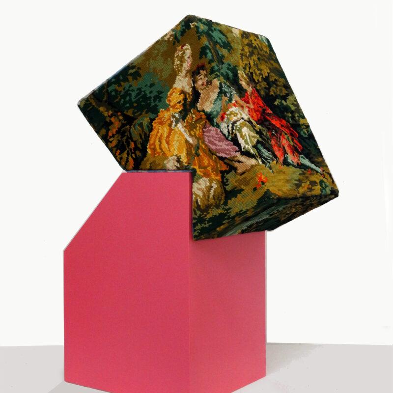 """""""Série Hybrid Lexis, Opposite n°14"""", sculpture, 66x46x26cm, copyright Dominique Torrente (France)"""