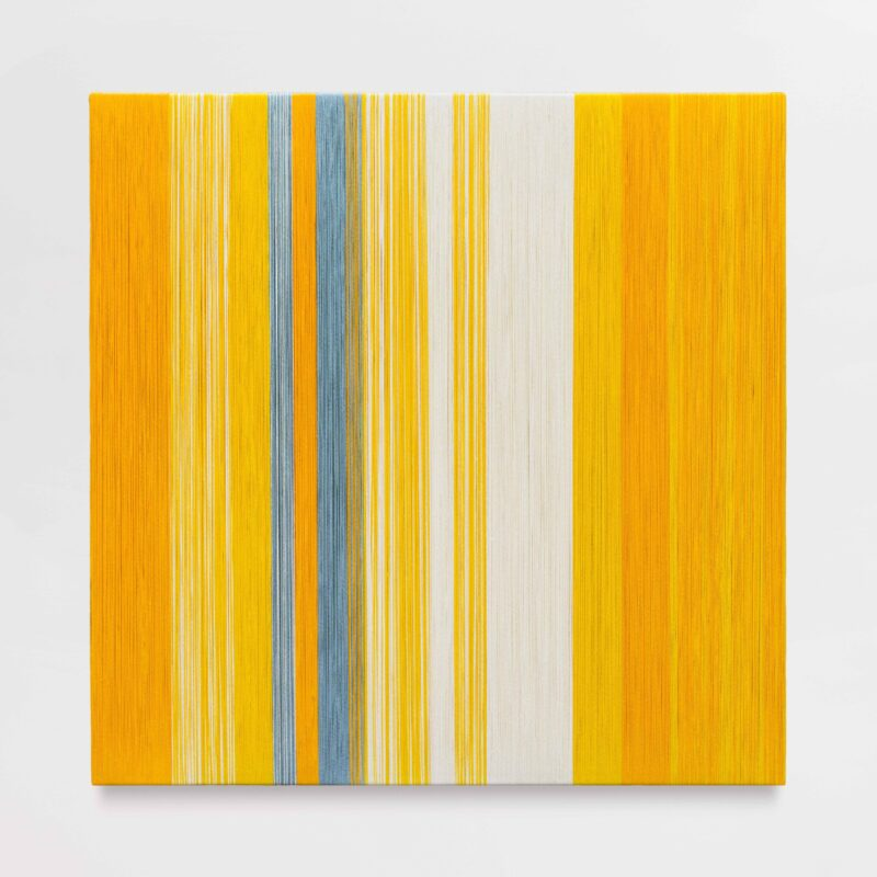 Sheila Hicks, Incomprehensible Yellow Space, 2020, Courtesy of the artist and galerie frank elbaz. Photo: Claire Dorn, © VG Bild-Kunst