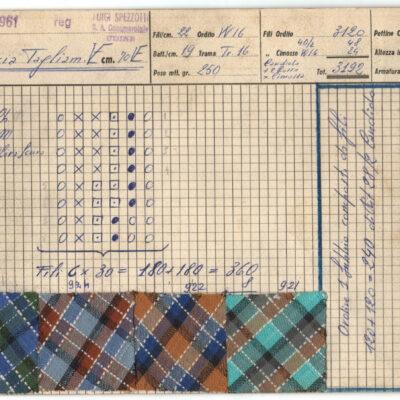 1961 - Cartolare 8 Camicia Tagliamento 61