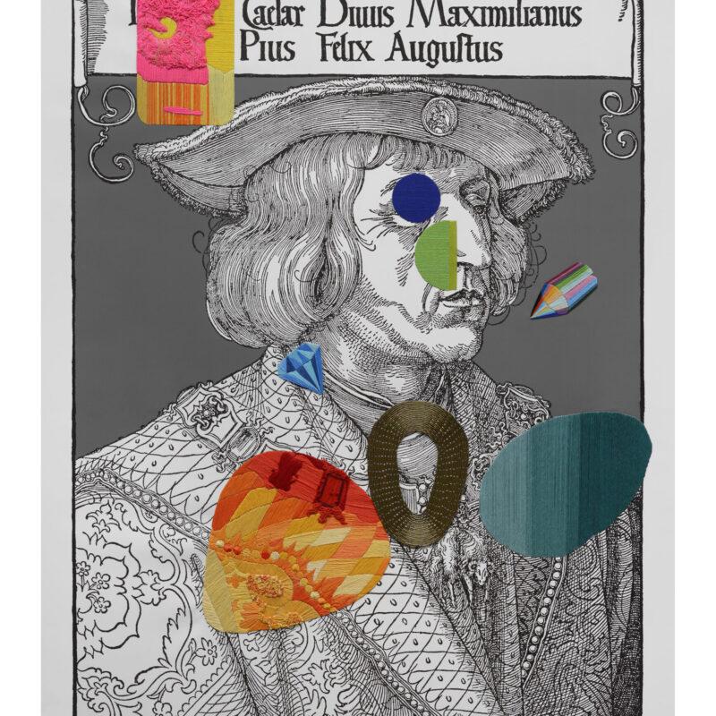 """Maximilianus"", 2018, 110x90 cm, copyright Ana Seggiaro"