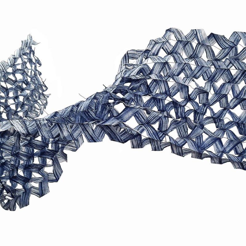 """""""Blue Rhytm"""", 272x56cm, copyright Anna-Mária Orbán"""