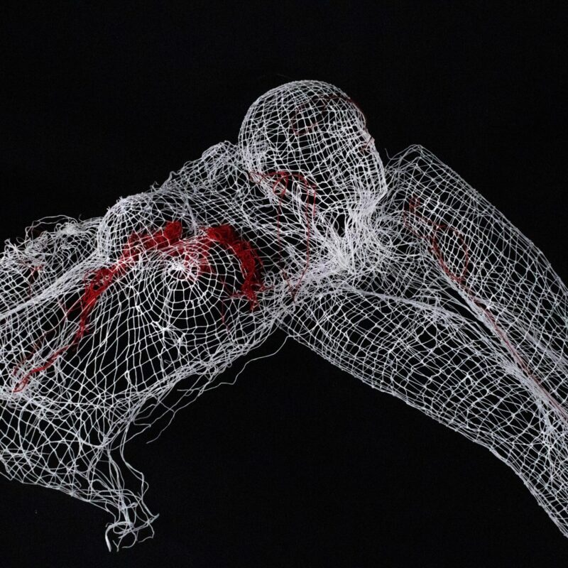 Body fragments, knotting, 2020. Ph.credit Alessandro Destro.