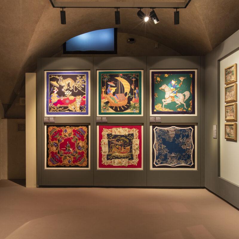 Sezione 2 | Ivo Bazzechi, Ritratto di Fulvia Ferragamo, 1971, fotografia a colori. Firenze, Museo Salvatore Ferragamo
