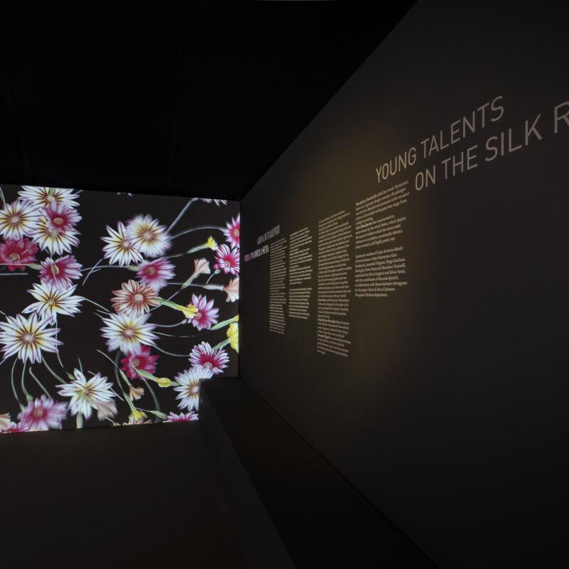 Museo Salvatore Ferragamo -  Sezione 7 | Giovani talenti sulla Via della Seta - Disegni realizzati da Alice Bomberini, studentessa del Liceo Artistico di Porta Romana e Sesto Fiorentino (Firenze), 2020-2021