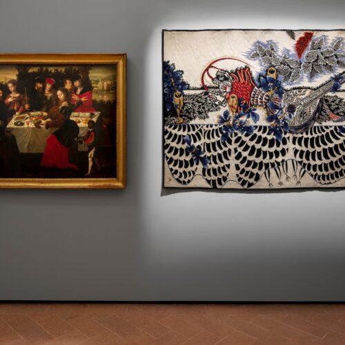 Miniartextil 30 edition, may – july2021 Installation view at Pinacoteca Civica, Como  Credits: Tspace Studio