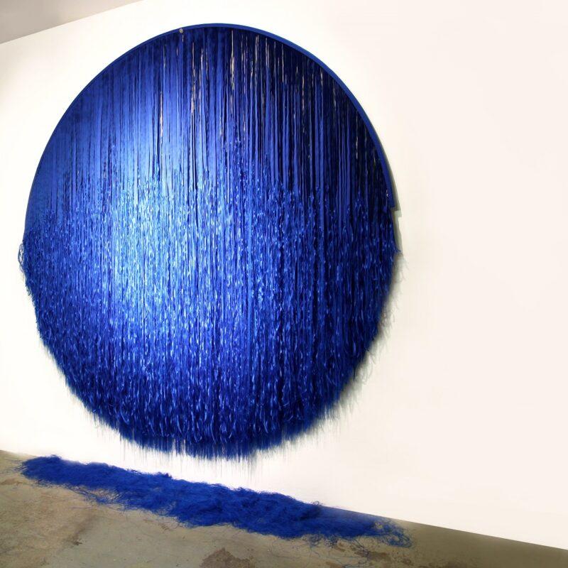 PUALBLU', collezione privata in collaborazione con Galleria Dilmos Milano