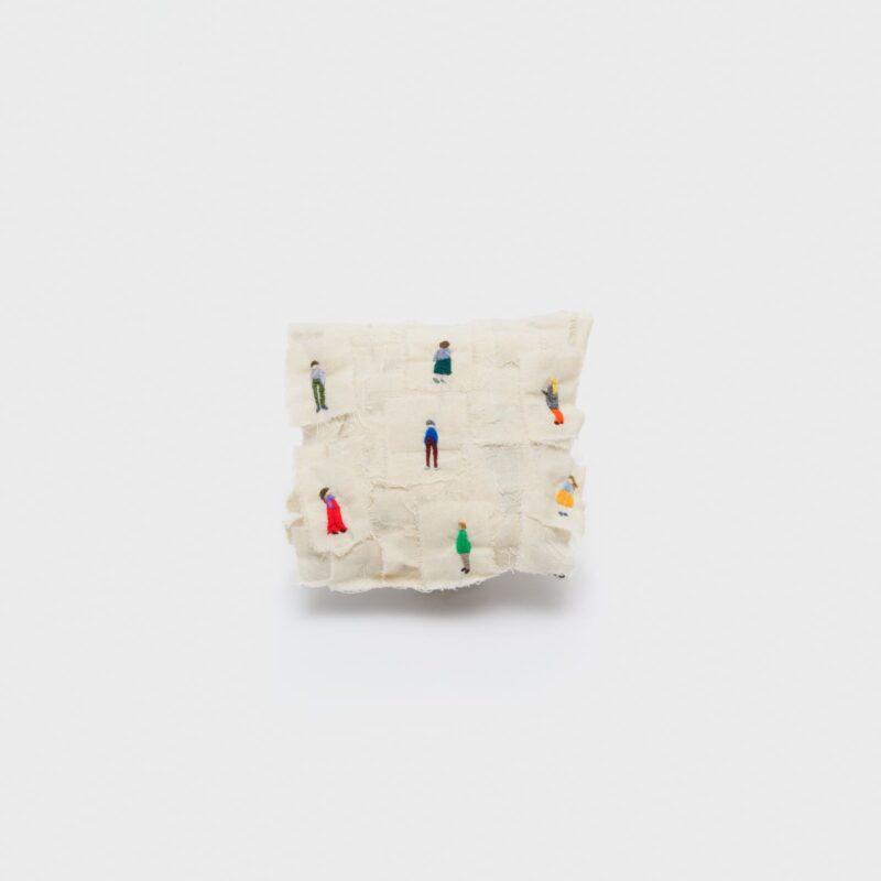 Manuela Bieri, Social distancing - Wool, cotton
