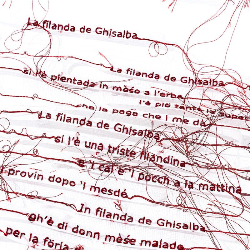 Unfildivoce - detail - Copyright Silvia Beccaria