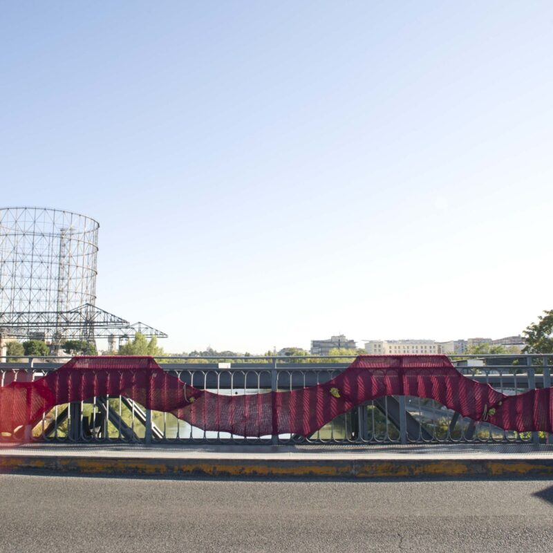 """Outdoor Festival, Roma, 2011, """"The heart as map"""""""