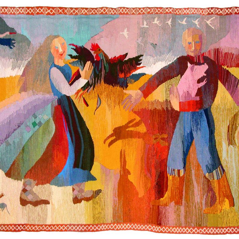 Inga Skujiņa (1952). La tierra buena/ The Good Land. 1977