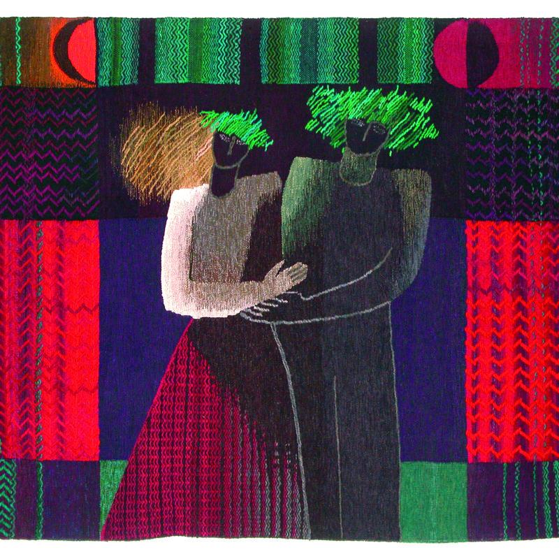 Aija Baumane (1943-2019). Motivo popular/ Folk Motif. 1988