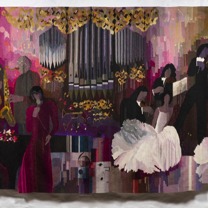 Edīte Pauls-Vīgnere (1939). Armonía/ Harmony. 1989