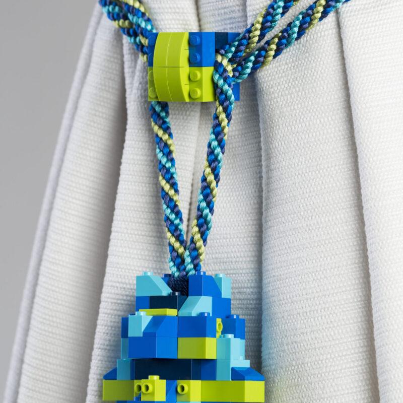 BRACCIALE LEGO, ANTICA FABBRICA, ©2021 Antica Fabbrica Passamanerie Massia Vittorio 1843