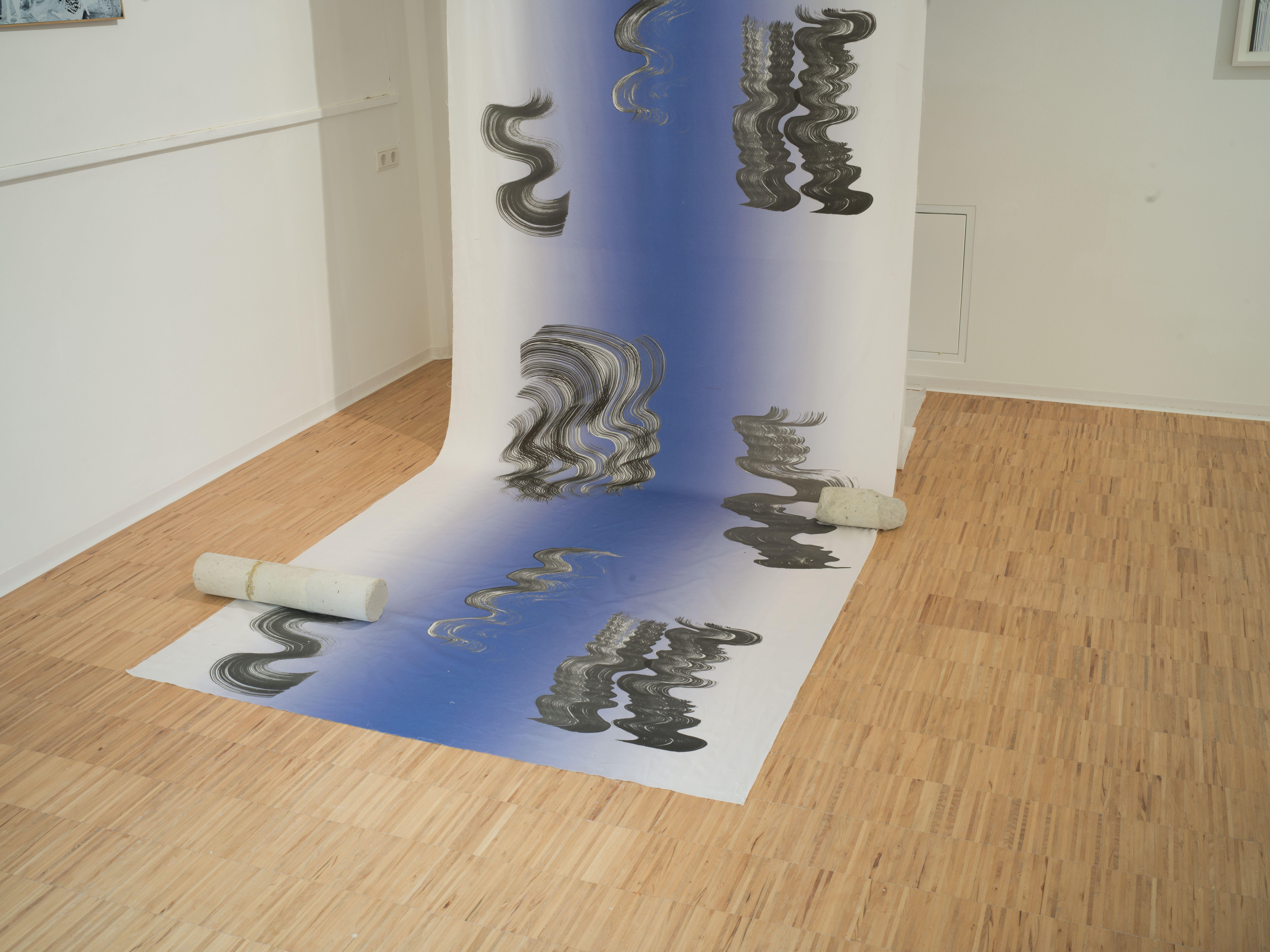 Installazione Art and Textile. A selection by Lottozero
