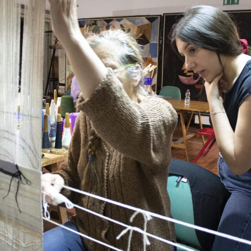 Workshop Arazzeria Scassa Asti 2021 - Foto Barbara Casagrande
