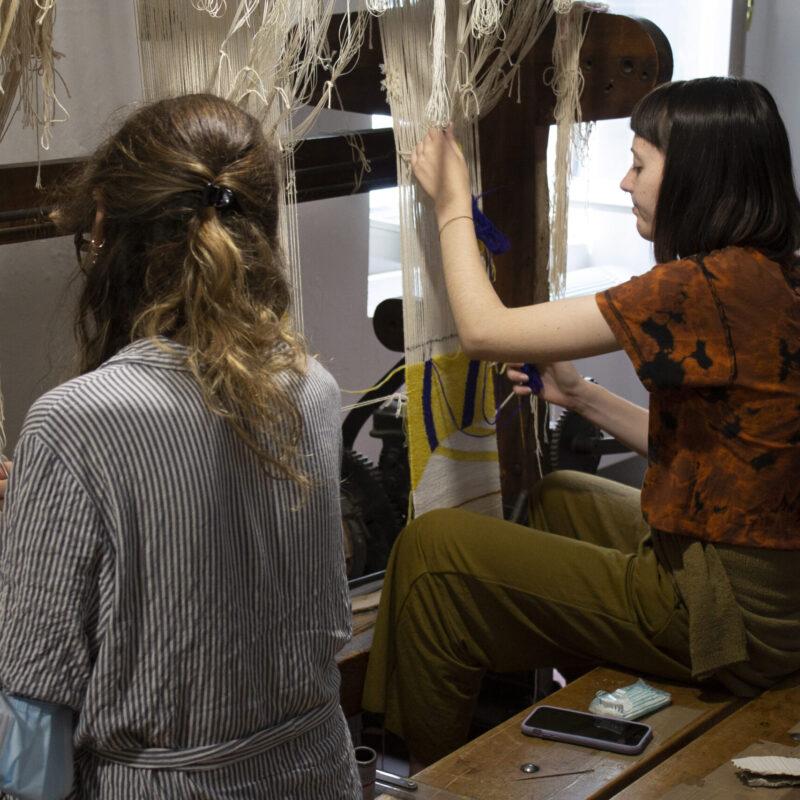 Workshop Arazzeria Scassa, photo Barbara Casagrande