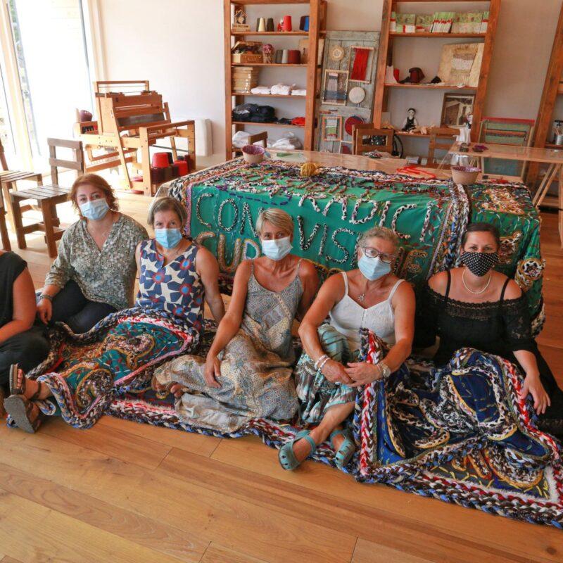 Jonida Xherri alla Casa delle Donne di Amatrice -ph. credit Marzio Mozzetti