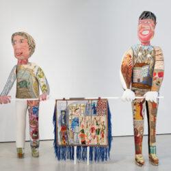 KlaasRommelaere_Hilde and Dirk_DarkUncles_installationview_GalerieZink_2020_8