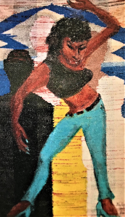 Gladys Barker Grauer (1923–2019) - Sweet Thing, 2013-2017 - Acrylic on woven plastic - On loan courtesy of the Estate of Gladys Barker Grauer