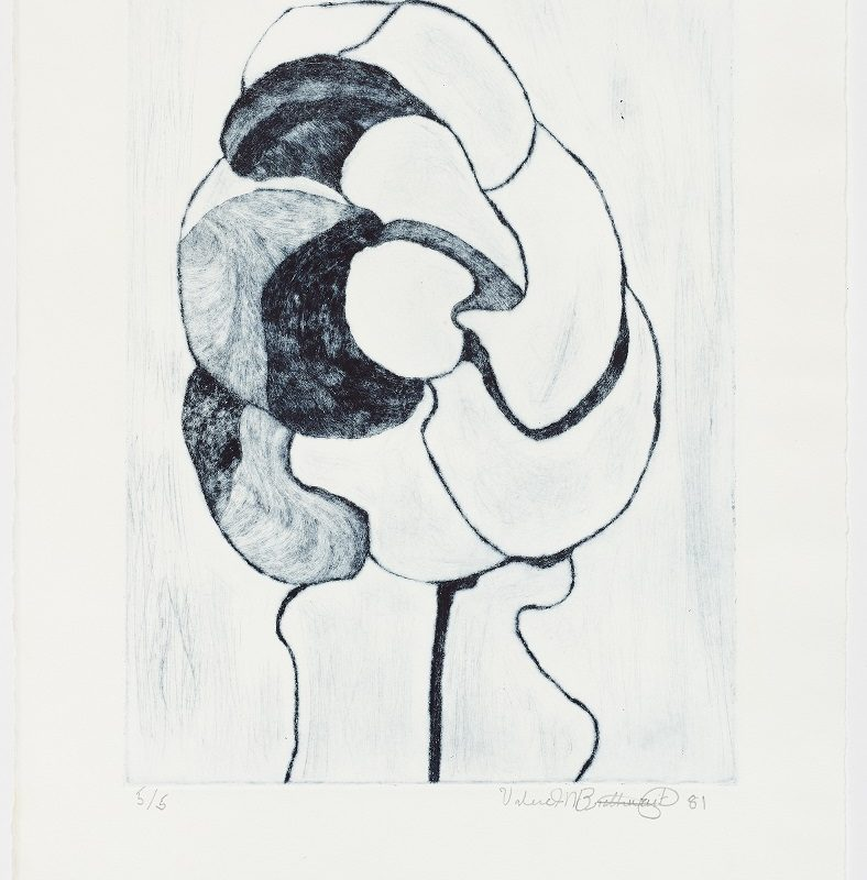 Sweden. 1981. Dry point engraving 19 1/2 x 13 in. (49.5 x 33 cm) Edition 5/5. Courtesy Henrique Faria New York