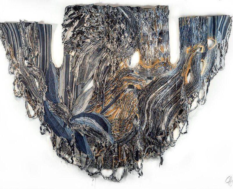 "Indompté / Untamed, 2017, Dimensions: 80"" x 122"" , 227 x 310 cm, copyright Tina Struthers"