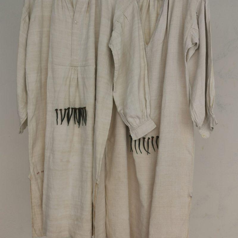María Jesús Manzanares. Camisas de hombre con púas