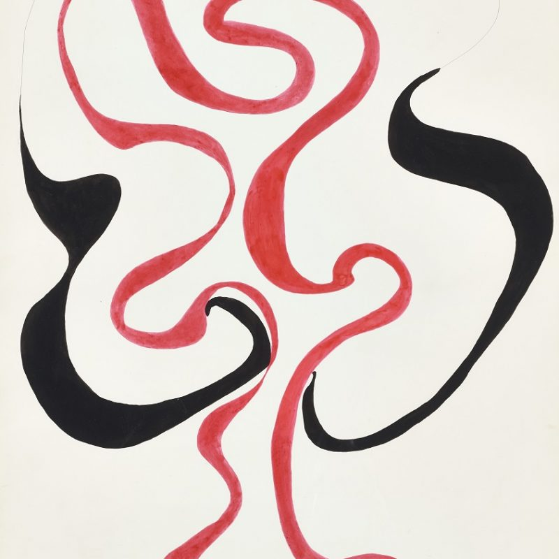 Untitled, 1975, Ink on paper,25 1/2 x 19 5/8 in. (64.8 x 49.9 cm.) Courtesy Henrique Faria New York